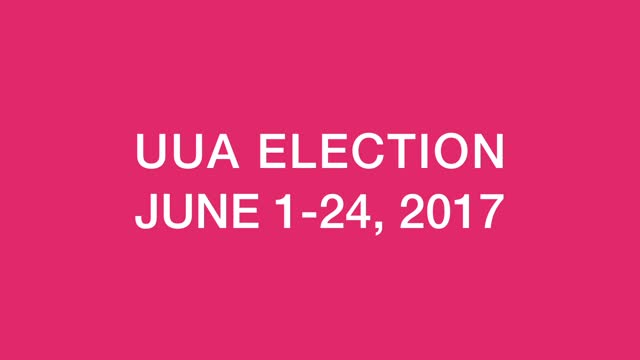 UUA Election Voting Video Guide