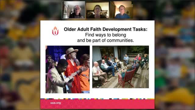 FDO Webinar - Spirituality and Aging- November 2016