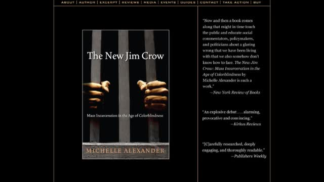 GA 2012 213 Michelle Alexander clip central thesis