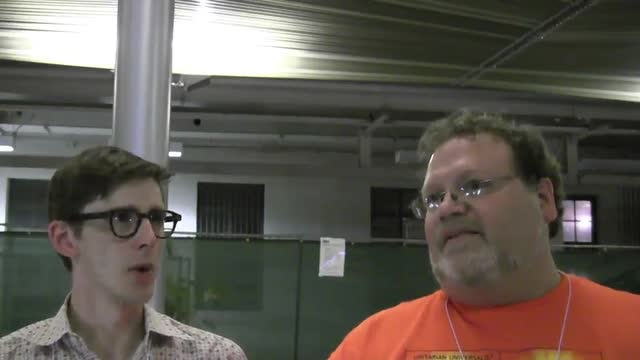 GA 2012 Andre Mol and Neil Worden interview