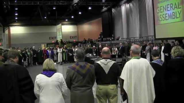GA 2012 Blessing before SLT