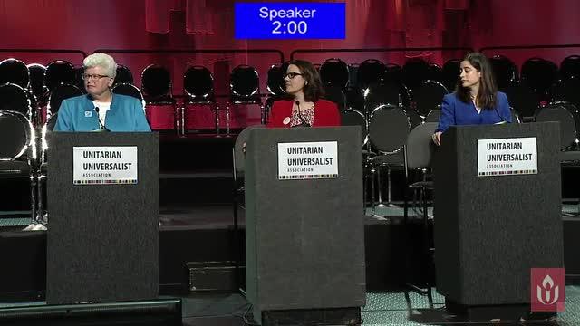 GA2016 #404 - Presidential Candidates Forum