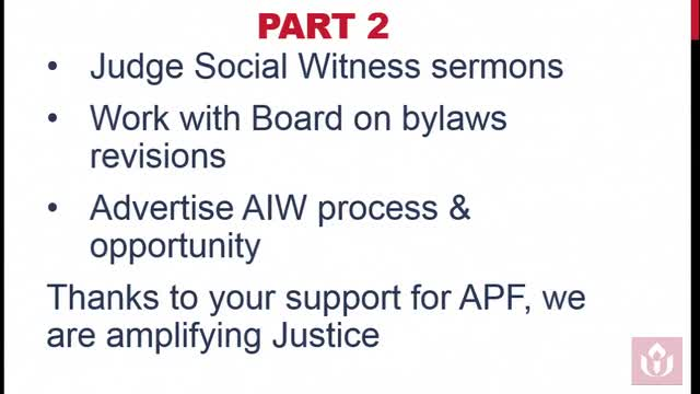 GA2018 #203 - Commission on Social Witness Report