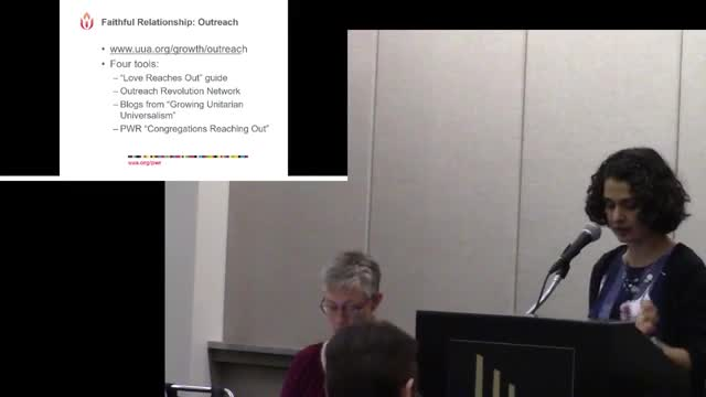 GA2018 #409 - Outreach and In-Reach Attracting, Integrating, and Nourishing UUs