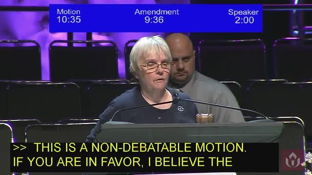 GA2018 #505 - General Session VIII