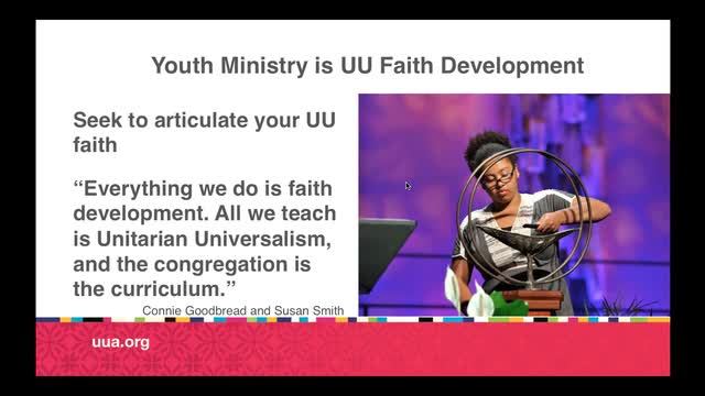 Intro to Competencies for Ministry to/with Youth Webinar