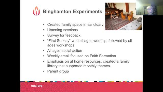 Moving Towards Family Ministry Webinar