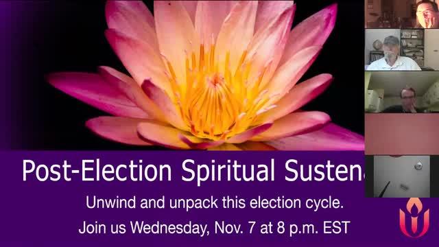 Post-Election Spiritual Sustenance