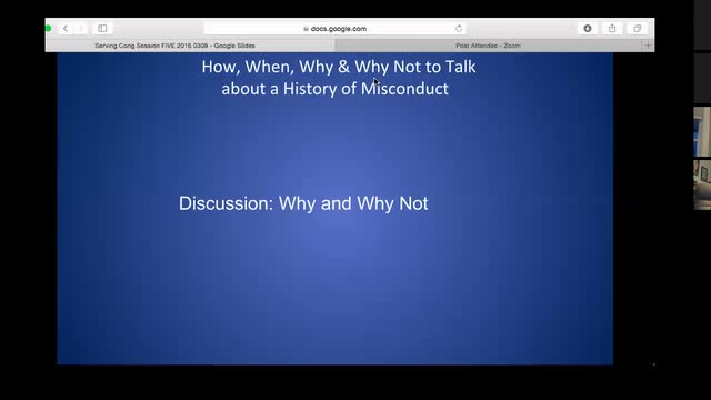 Serving Congregations with a History of Misconduct - Online Course, Session 5