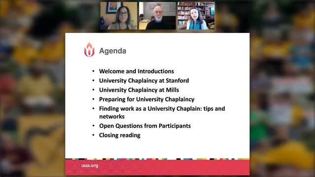 The 411 on University Chaplaincy February, 2017